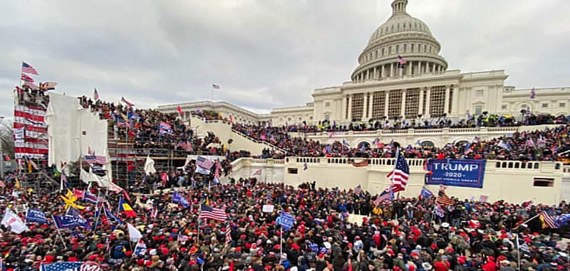 January 6, 2021 US Capitol invasion, insurrection, coup