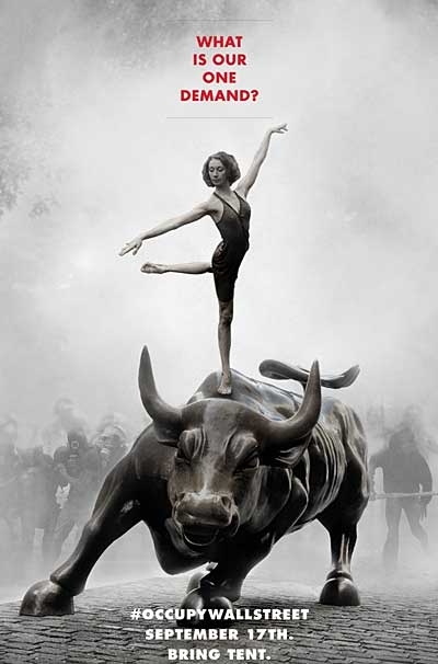 """Adbusters """"Occupy"""" poster"""