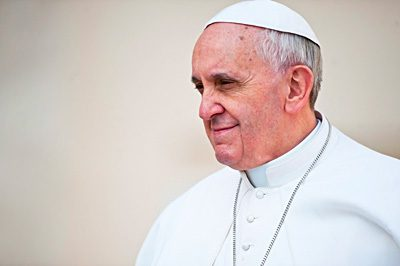 Pope Francis intercedes
