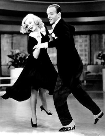 Ginger Rogers and Fred Astaire, astrology of Terpsichore