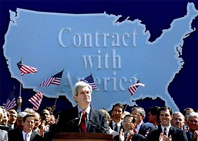Gingrich contract with America