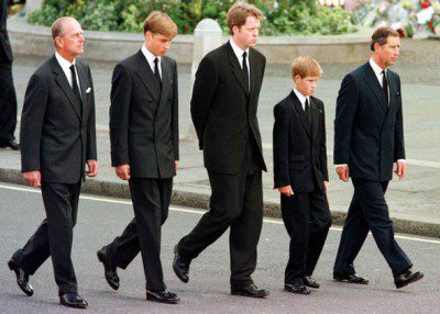 Funeral procession, DIana