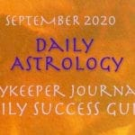 Daily Success Guide Astrology, September 2020