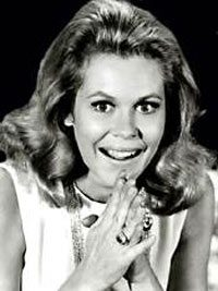 Elizabeth Montgomery, all-American witch with sun conjoined Medea in Aries