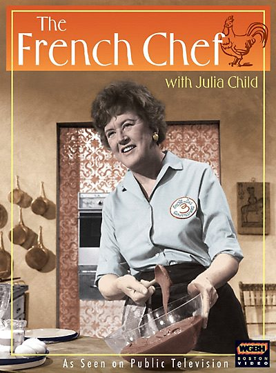 Julia Child, the first television chef