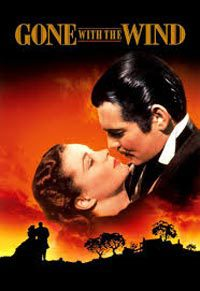"""Movie poster for """"Gone with the Wind"""""""