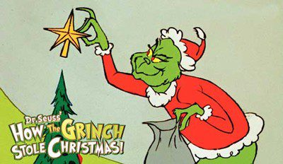 """2015 marks the 50th anniversary of Dr. Seuss' perennial favorite, """"How the Grinch Stole Christmas."""""""