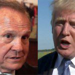 Roy Moore and Donald Trump