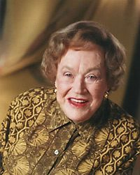 Julia Child in old age