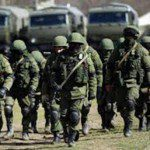 Russian troops mobilized