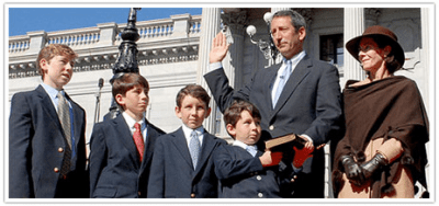 Sanford governor first family