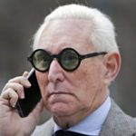 Stone on the phone