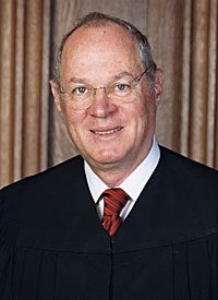 Justice Anthony Kennedy cast the pivotal vote