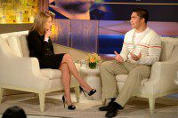 Manti Te'o with Katie Couric