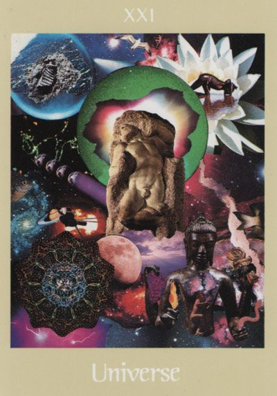 Voyager Tarot - Universe (The World)