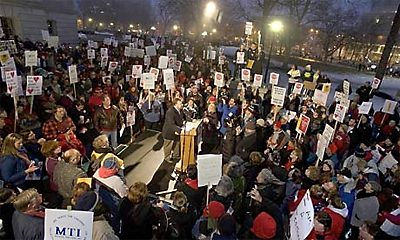 Wisconsin protesters